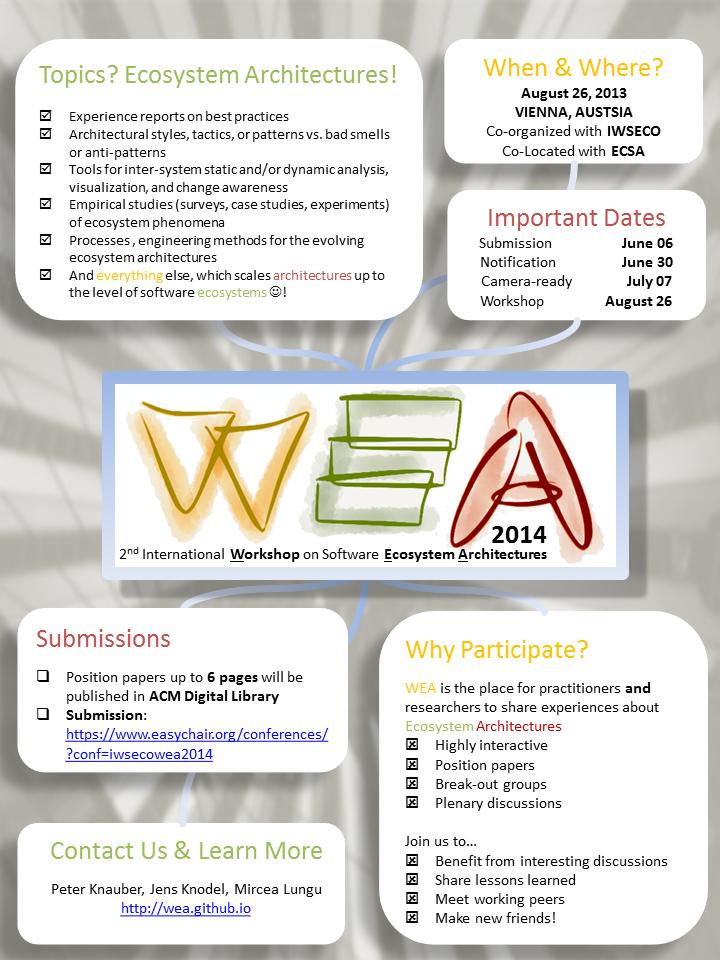 WEA 2014